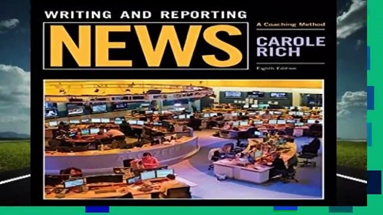 Trial New Releases  Writing and Reporting News: A Coaching Method (Mass Communication and