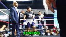 Erik Morales Throws A Punch That Only Canelo Lands
