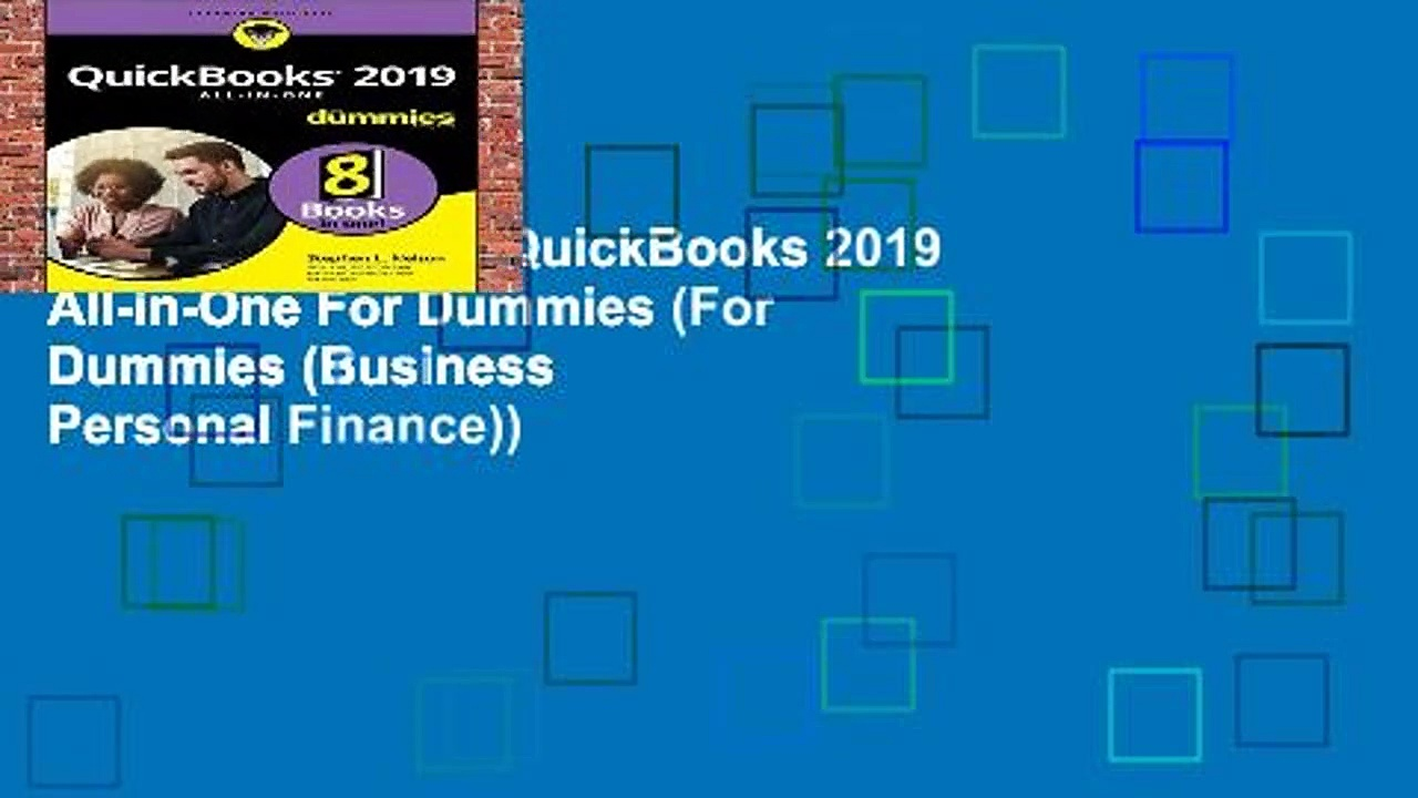 [BEST SELLING]  QuickBooks 2019 All-in-One For Dummies (For Dummies (Business   Personal Finance))