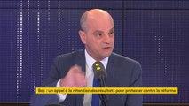 """Fuites au bac ES : """"C'est circonscrit et ça tourne autour de 4 établissements d'Île-de-France"""" (Jean-Michel Blanquer)"""