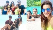 Kriti Sanon ENJOYS Vacation In Maldives With Friends