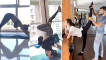 Mouni Roy Shows Her LOVE For Yoga In Latest Video Amazing Flexibility