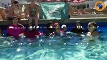Pour défendre leur liberté, des musulmanes se baignent en burkini