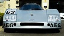 Mercedes Fan Builds 300KMH C9 Sauber | RIDICULOUS RIDES