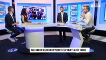 Yahoo, écologie, cinéma : les nouveaux projets d'Alexandre Delpérier (Exclu Vidéo)