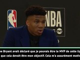 "NBA Awards - Giannis : ""Kobe Bryant a allumé la flamme"""