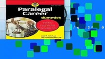 [MOST WISHED]  Paralegal Career For Dummies (For Dummies (Career/Education))