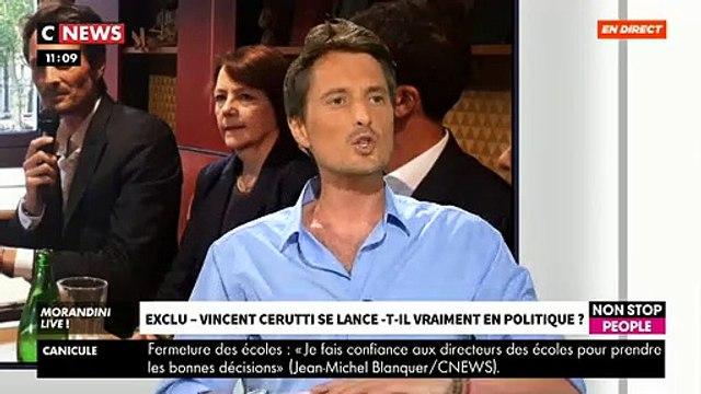 """EXCLU - VIncent Cerutti: """"Je suis adhérent En Marche et je m'engage pour lutter contre le danger que représente l'extrême droite"""" - VIDEO"""