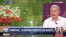 Canicule: 53 départements en alerte (1/2)
