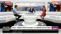 Morandini Live : Vincent Cerutti va-t-il vraiment faire de la politique ? Il répond (vidéo)