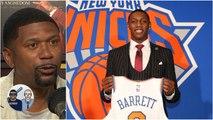 Knicks making RJ Barrett feel appreciated by organization – Jalen Rose - Jalen - Jacoby