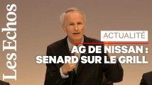 Jean-Dominique Senard pris à partie lors d'une AG de Nissan