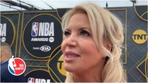 Jeanie Buss admits she was 'shocked' by Magic Johnson's exit, confident in Rob Pelinka - NBA