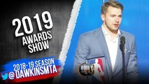 Luka Doncic Wins 2018-19 Rookie Of The Year Award - 2019 NBA Awards Show