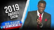 Pascal Siakam Wins 2018-19 Most Improved Player Award - 2019 NBA Awards Show