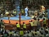 Jumbo Tsuruta & Genichiro Tenryu vs. Stan Hansen & Ted Dibiase (AJPW 85 Decisive Battle! Dynamite Wars - Tag 8)