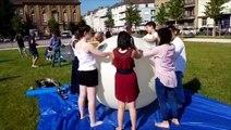 Thionville : lancement d'un ballon atmosphérique par des élèves scientifiques du lycée Charlemagne