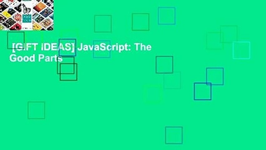 [GIFT IDEAS] JavaScript: The Good Parts