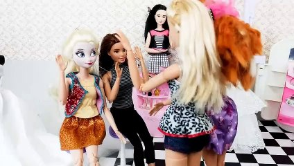 Frozen Elsa Barbie wedding dress lovely bridal shopバービーウェディングドレスVestido de noiva de Barbie Elsa | Karla D.