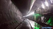 Visite du chantier du tunnel Lyon-turin