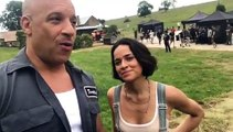 Fast and Furious 9 : Vin Diesel and Michelle Rodriguez on set ! First day
