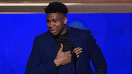 Giannis Named NBA MVP