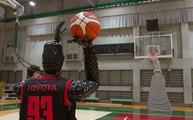 VÍDEO: Y de repente, Toyota se inventa el CUE3, un robot que es un crack del baloncesto