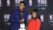 Giannis Antetokounmpo Named NBA MVP