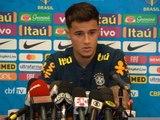 """Copa America - Coutinho : """"Fernandinho est un leader pour le Brésil"""""""