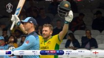 100 and out for Australia captain Finch