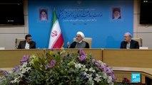 Hassan Rohani accuse Washington de mentir sur sa volonté de négocier