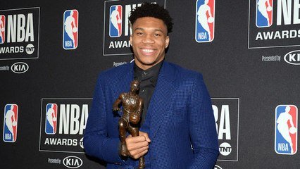 Giannis Antetokounmpo wins NBA MVP