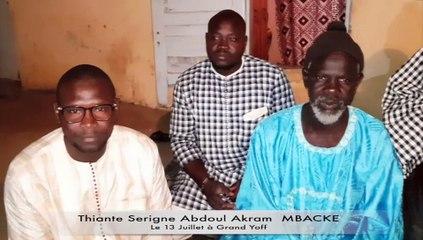 Thiante Serigne Akram Mbacke