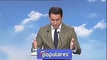 """García Egea: """"Hemos convencido a los ciudadanos para echar a la izquierda y no puede ser que ahora sea más difícil convencer a Vox"""""""
