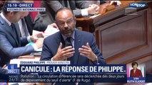 """Édouard Philippe: """"Nous devons nous adapter, adapter notre société"""" face à la canicule"""