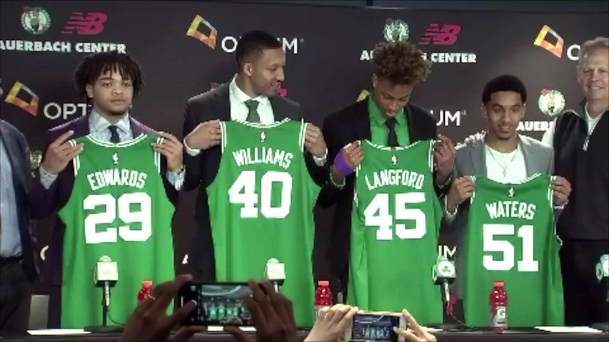Romeo Langford, Grant Williams On Their Rookie Goals As Celtics