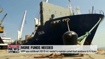 WFP says additional US$ 20 mil. needed to maintain current food assistance to N. Korea