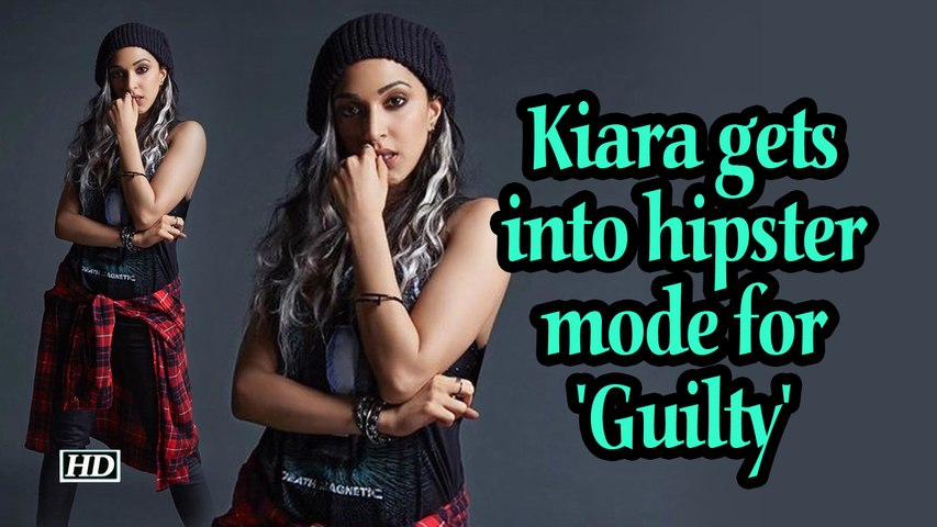 Kiara gets into hipster mode for 'Guilty'