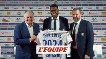 Jean Lucas est officiellement un joueur lyonnais - Foot - L1 - OL