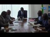 RTG/Séance de travail entre le Ministre des transports et le syndicat de la SOGATRA