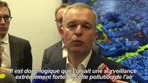 """Canicule: une """"situation exceptionnelle pire que 2003"""" (de Rugy)"""