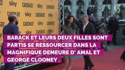 Cet imprévu qui a fait paniquer George Clooney avant l'arrivée...