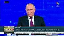 teleSUR Noticias: Putin responde a sanciones de Europa y EE.UU.
