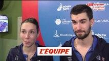 Gasnier «À coeur de ramener une médaille» - Tennis de table - Jeux Européens - Double mixte
