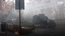 Clashes erupt between student protesters and police in Chile