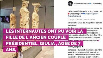 """VIDÉO. Carla Bruni-Sarkozy : cette """"visite"""" surprise qui l'a a..."""