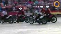Les Russes champions de motoball