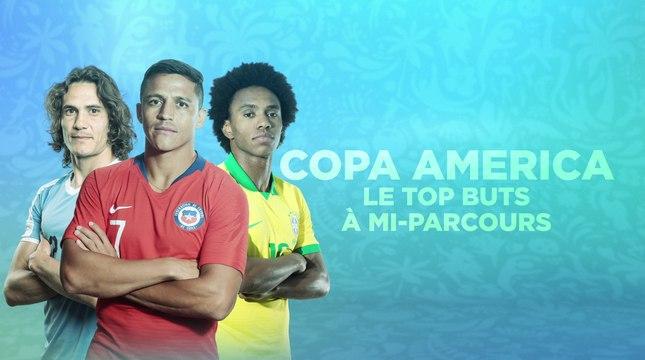Copa America - Top buts : Cavani et l'Uruguay sont déjà chauds