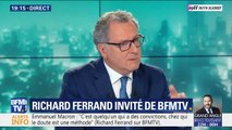 """Pour Richard Ferrand, Emmanuel Macron """"est quelqu'un qui a des convictions, chez qui le doute est de méthode"""""""