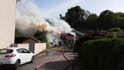 Incendie du laboratoire de K6 Framboise